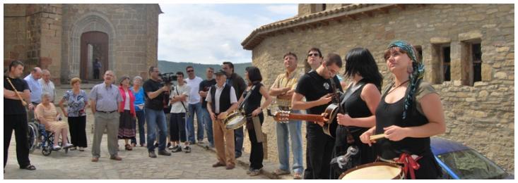 Alguiraré, canción del grupo Zarrakatralla Folk, dedicada a los Pintaneses